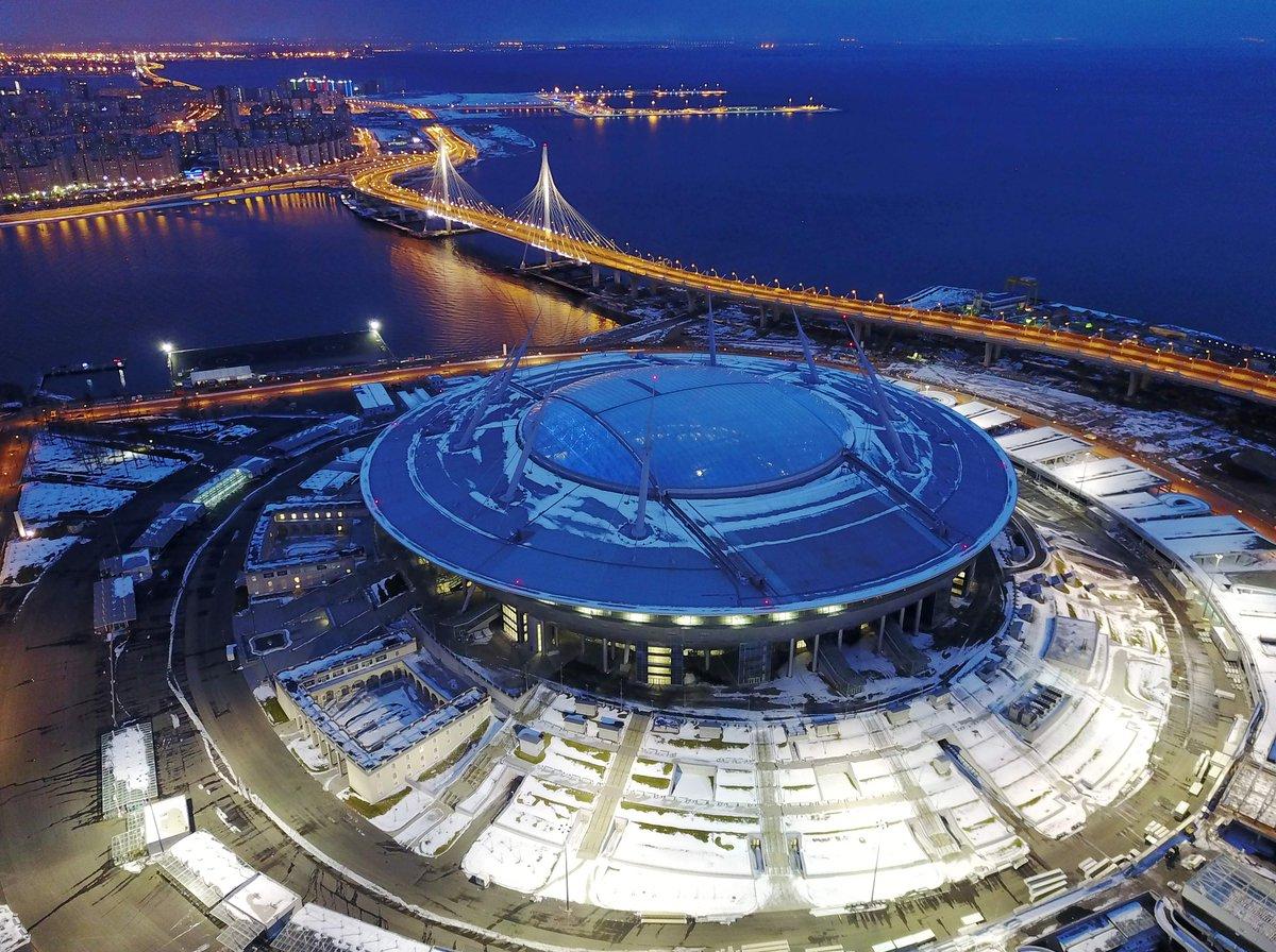 Estadio San Petersburgo Mundial Futbol Rusia 2018 El Heraldo