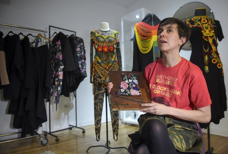 Laura Laurens, diseñadora colombiana.