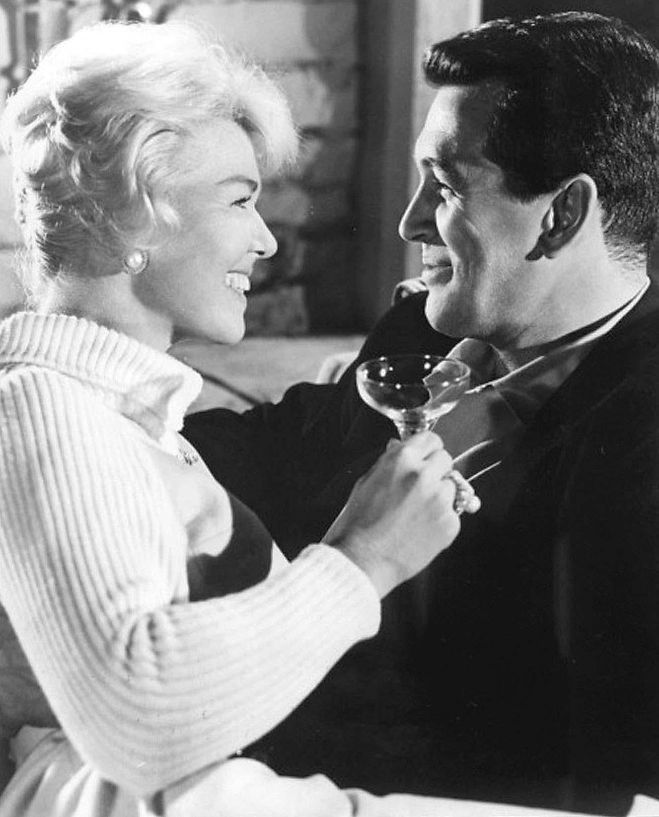 Doris Day y Rock Hudson (fallecido).
