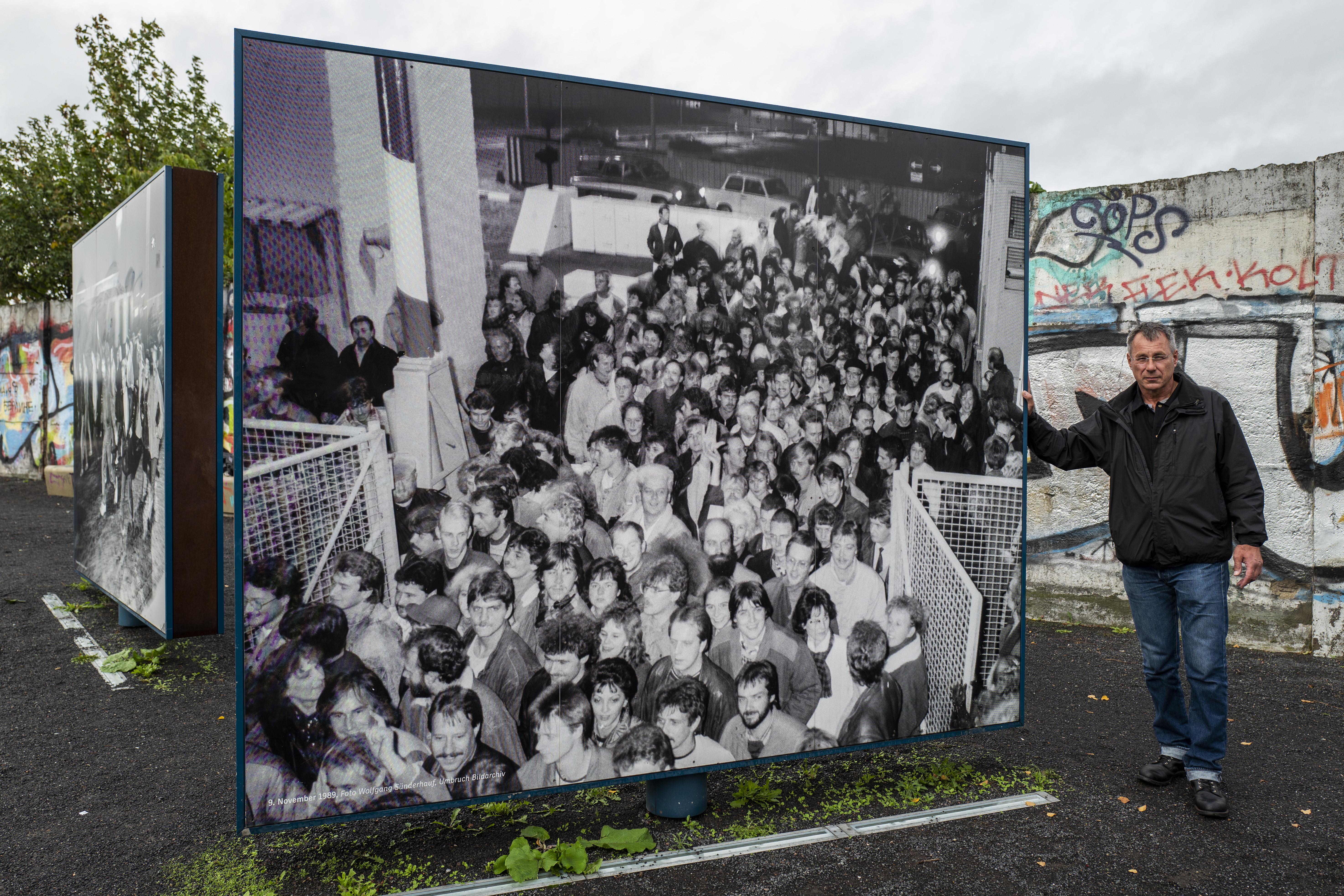 Qué le marcó el final al Muro de Berlín