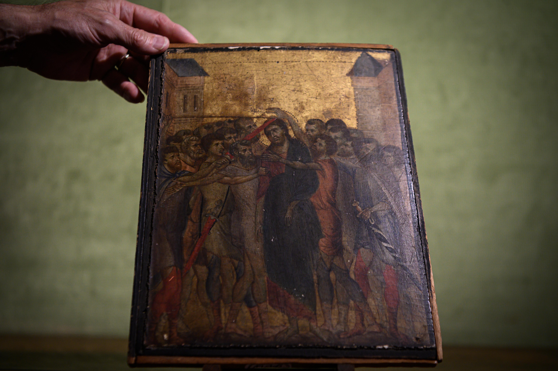 'Cristo burlado', de Cimabue.