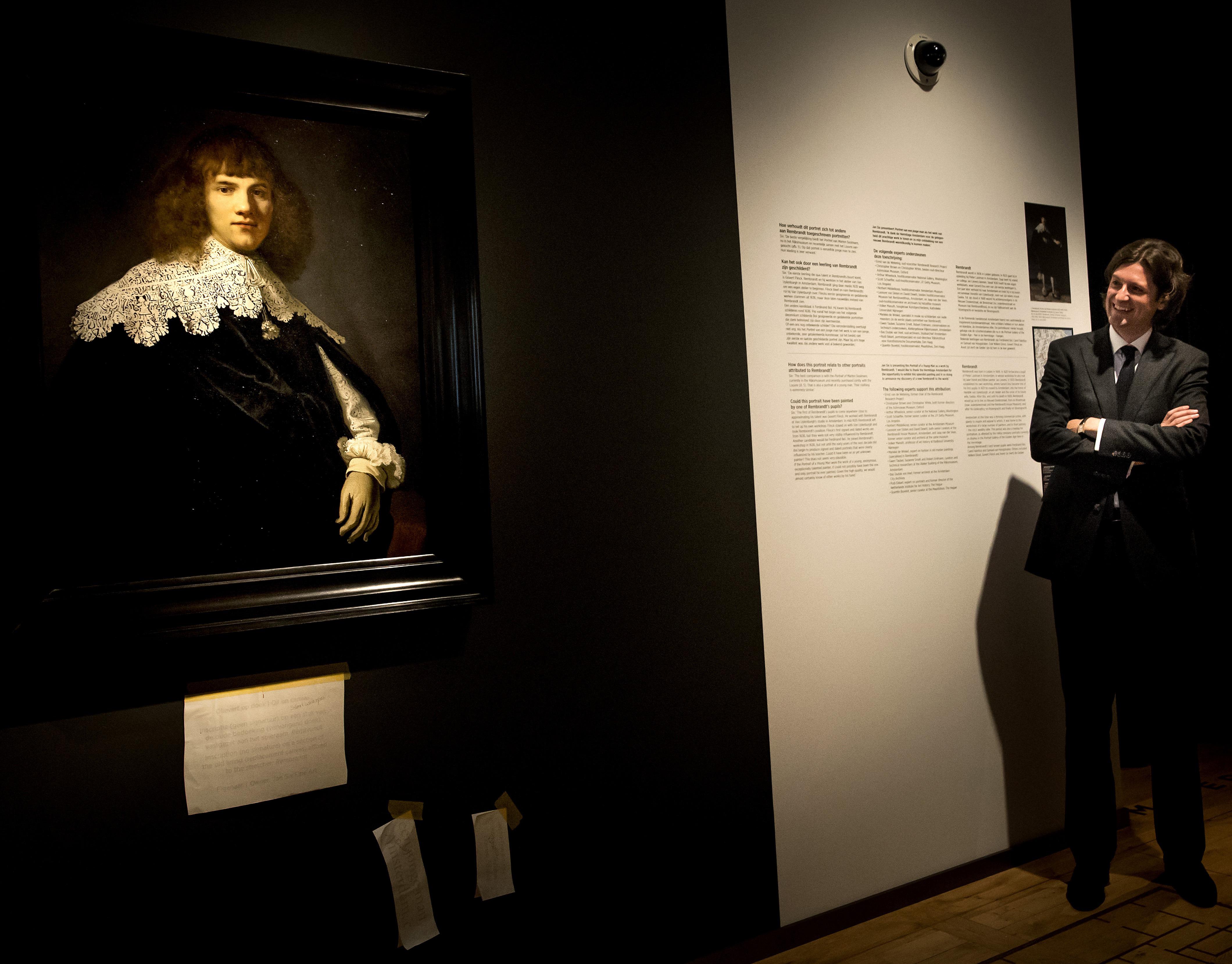 'Retrato de un joven caballero', de Rembrandt.