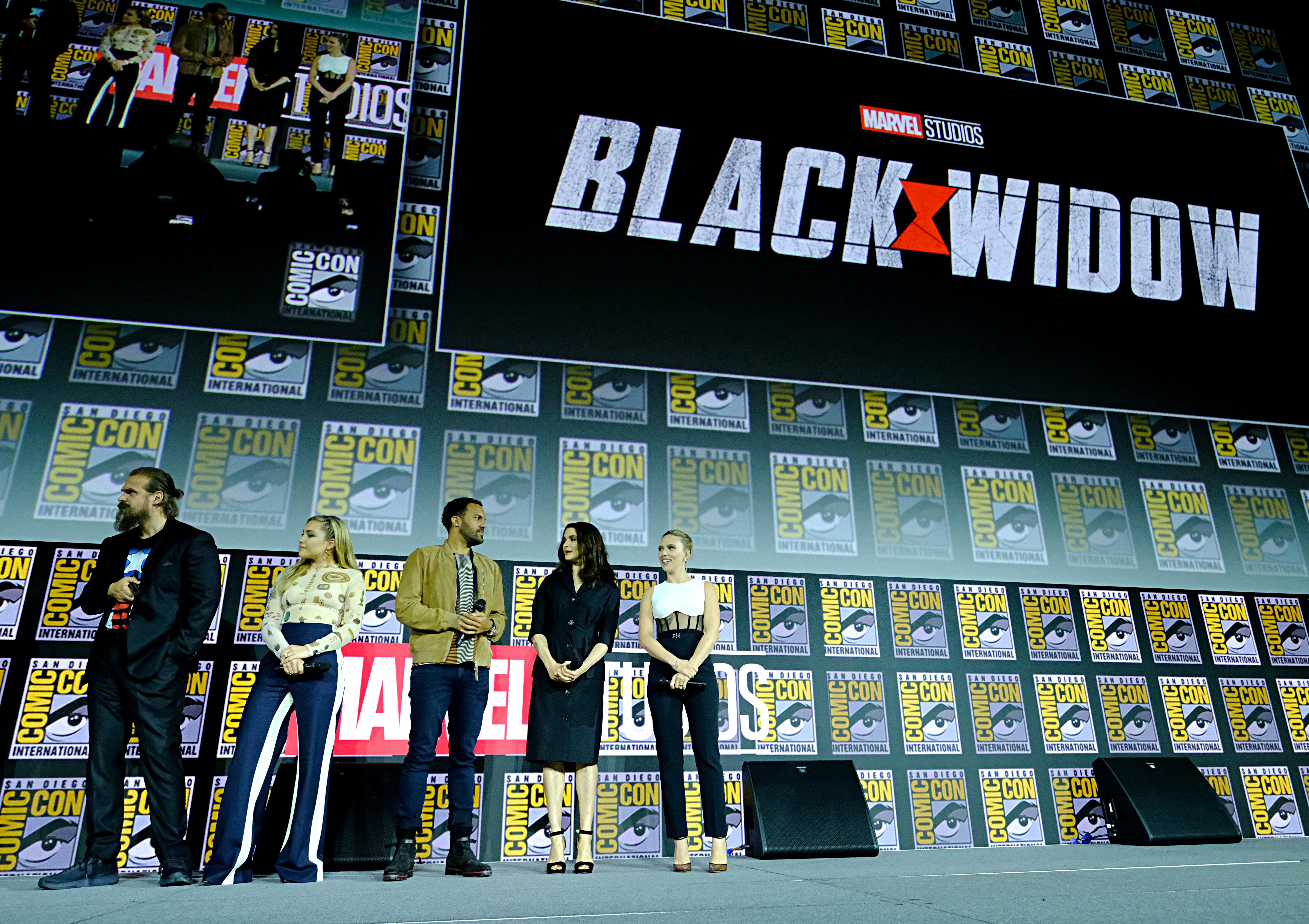 Elenco de Black Widow