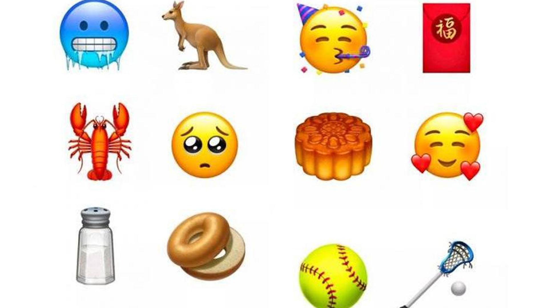 Nuevos emojis.