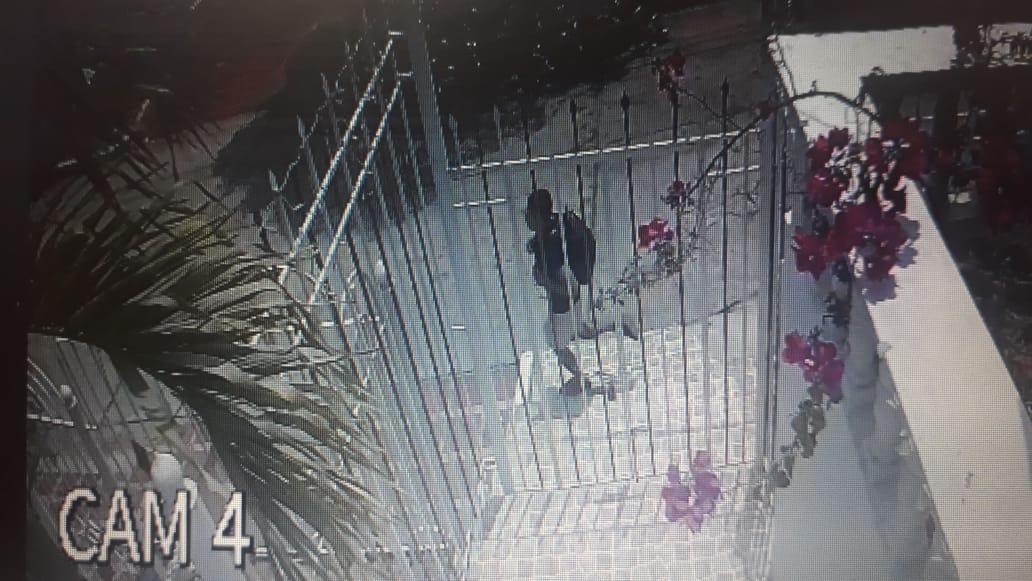 La imagen del 'Pupileto' fue captada por cámaras de seguridad el día del robo en una casa al norte de Barranquilla.