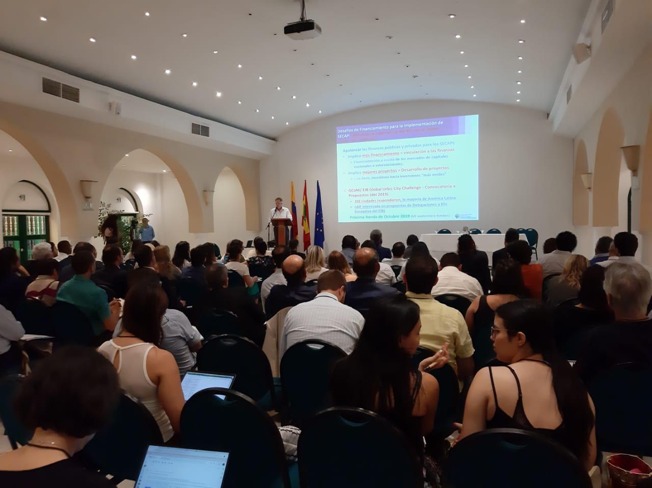 Aspecto del evento que se desarrolló en Cartagena.