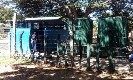 Imagen del sitio donde están ubicados los tanques de almacenamiento del acueducto de Los Corazones.