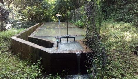 Desarenador en el acueducto de Mariangola, corregimiento de Valledupar.