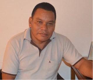 Israel Aguilar, líder indígena.