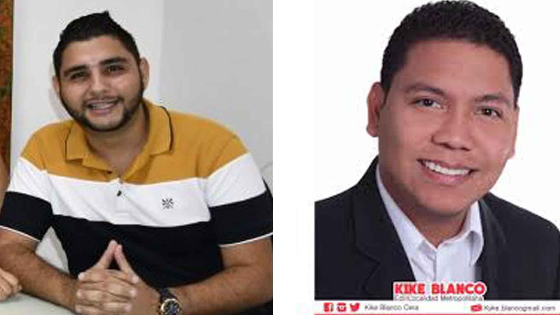 Carlos Tulena y Enrique Blanco.