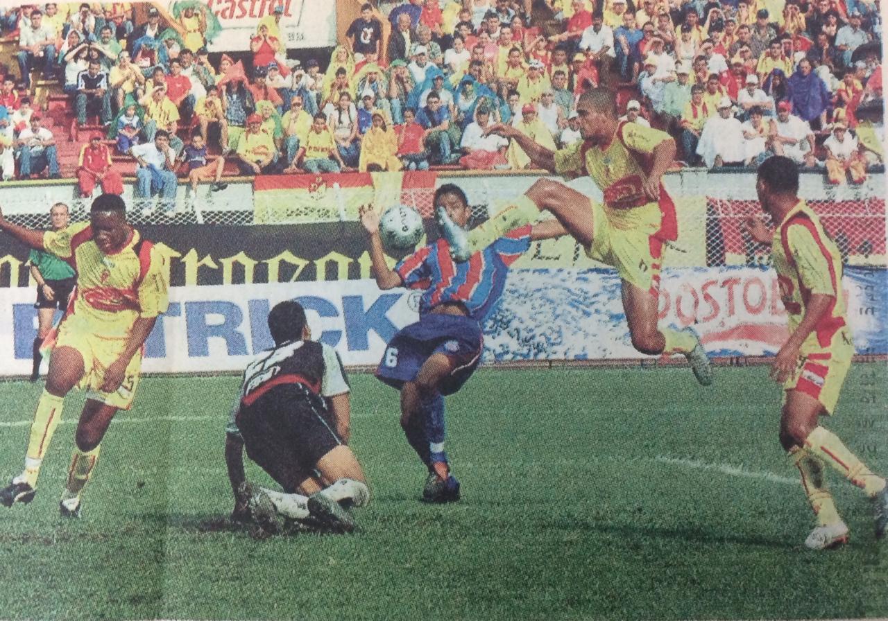 30 de octubre 2005. En Pereira el Unión jugó con juveniles y cayó 3 - 0. Ese día descendió.