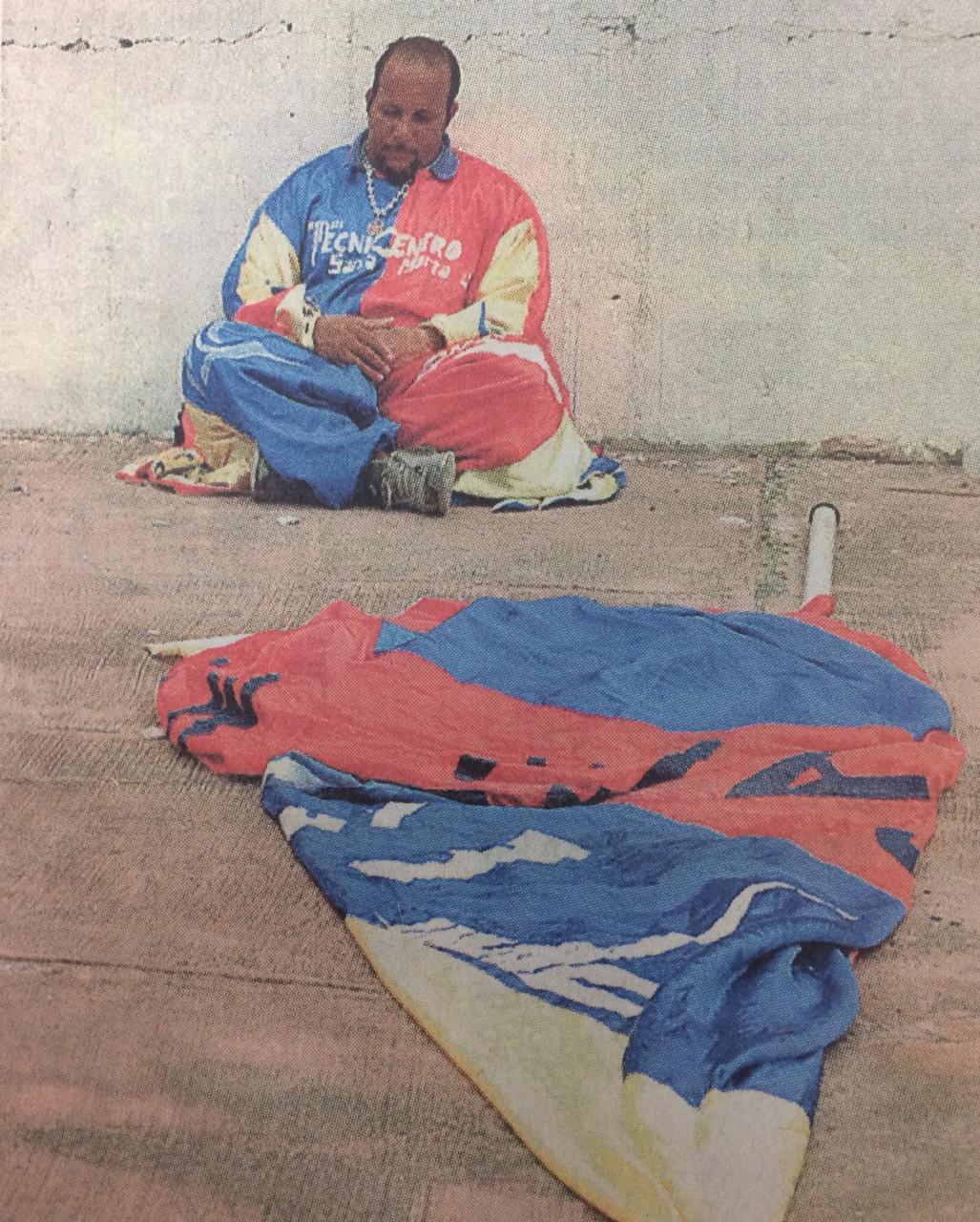 30 de octubre del 2005. El Cole se derrumbó ante el descenso.