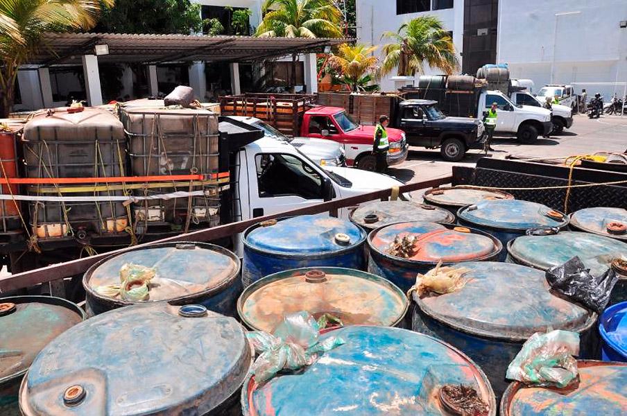 Más de 46.000 galones de combustible de contrabando han incautado las autoridades en lo que va de 2017.