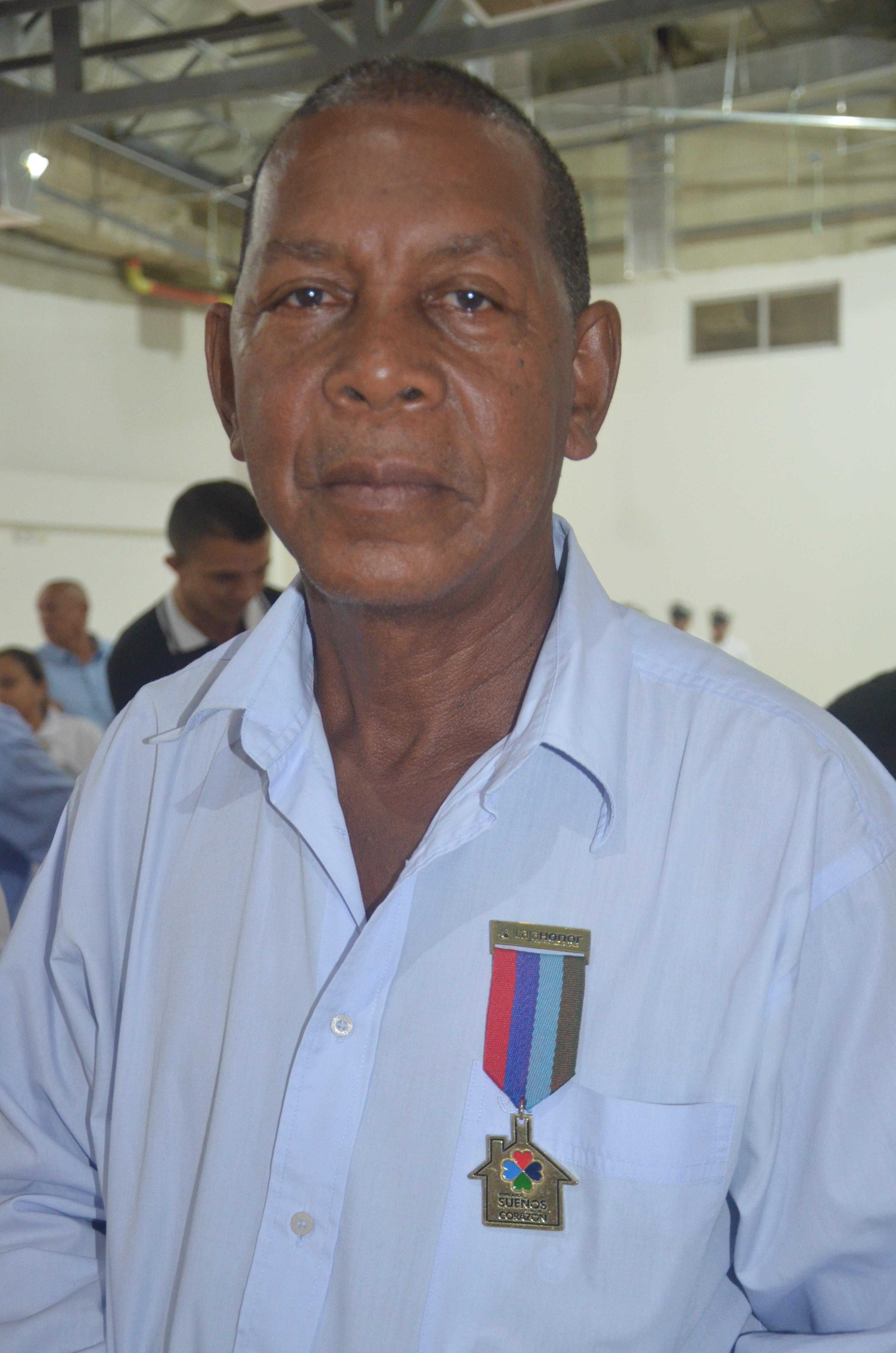 Juan Antonio Ochoa, beneficiario.