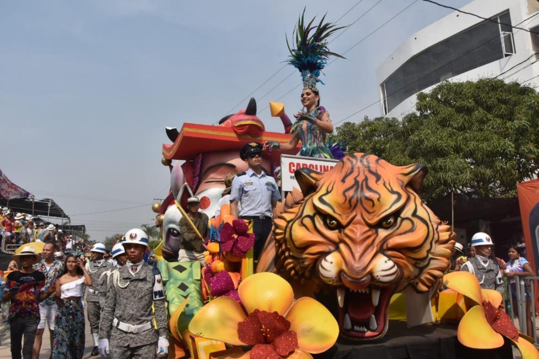 También fue fortalecido el Carnaval del Atlántico