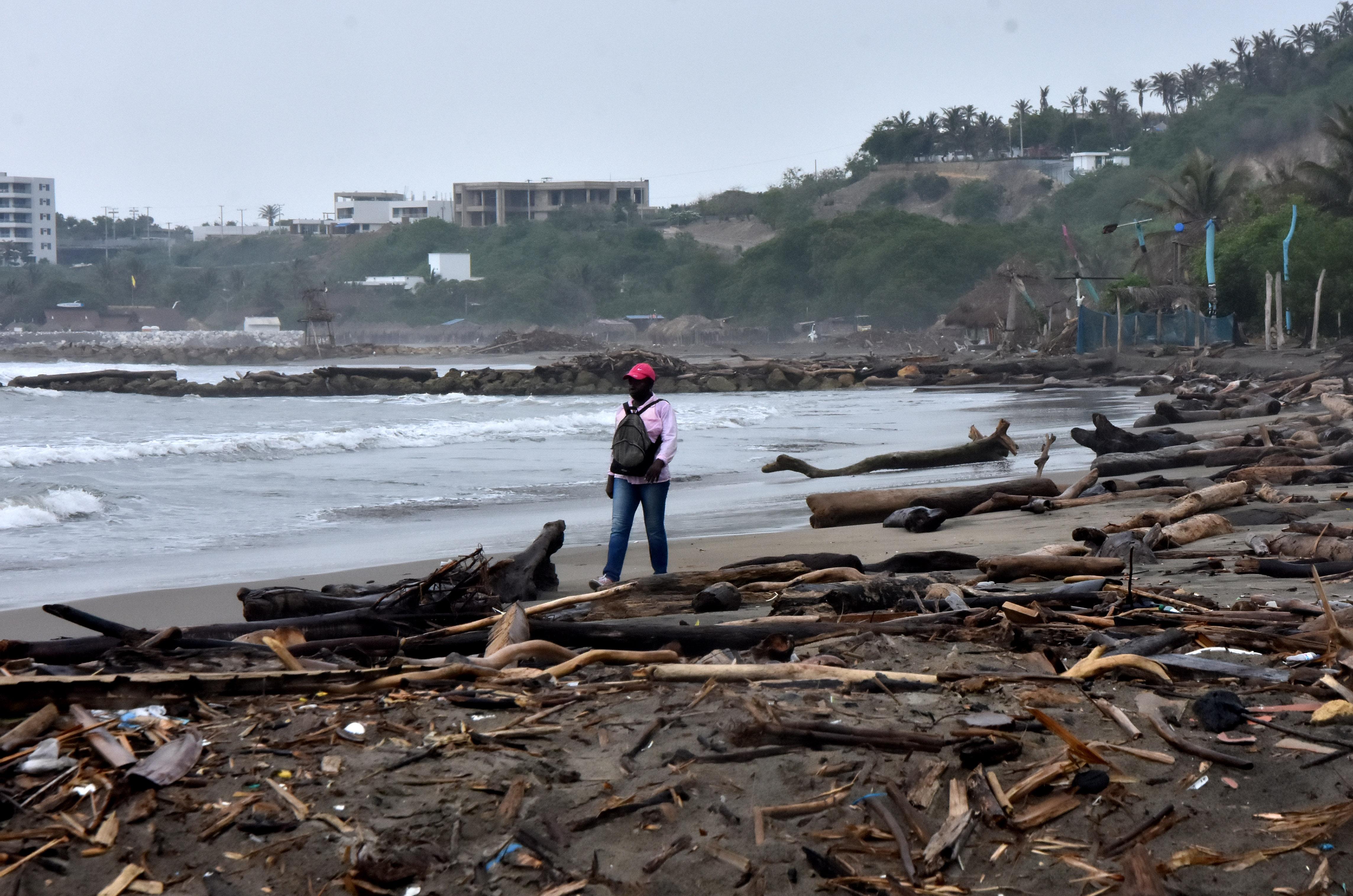 Panorámica de las playas en Salgar (Puerto Colombia).