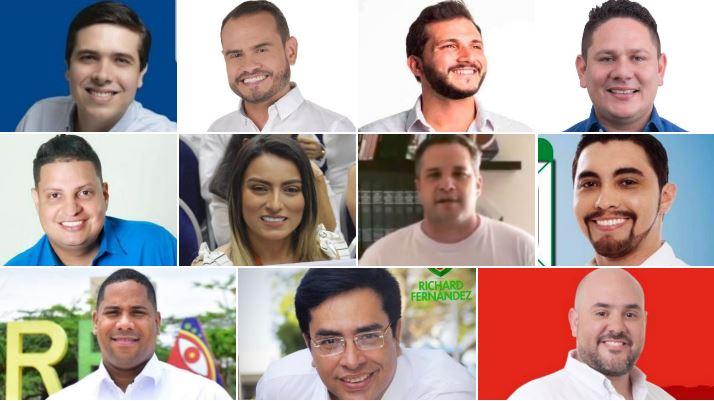 Las nuevas caras del Concejo Distrital.