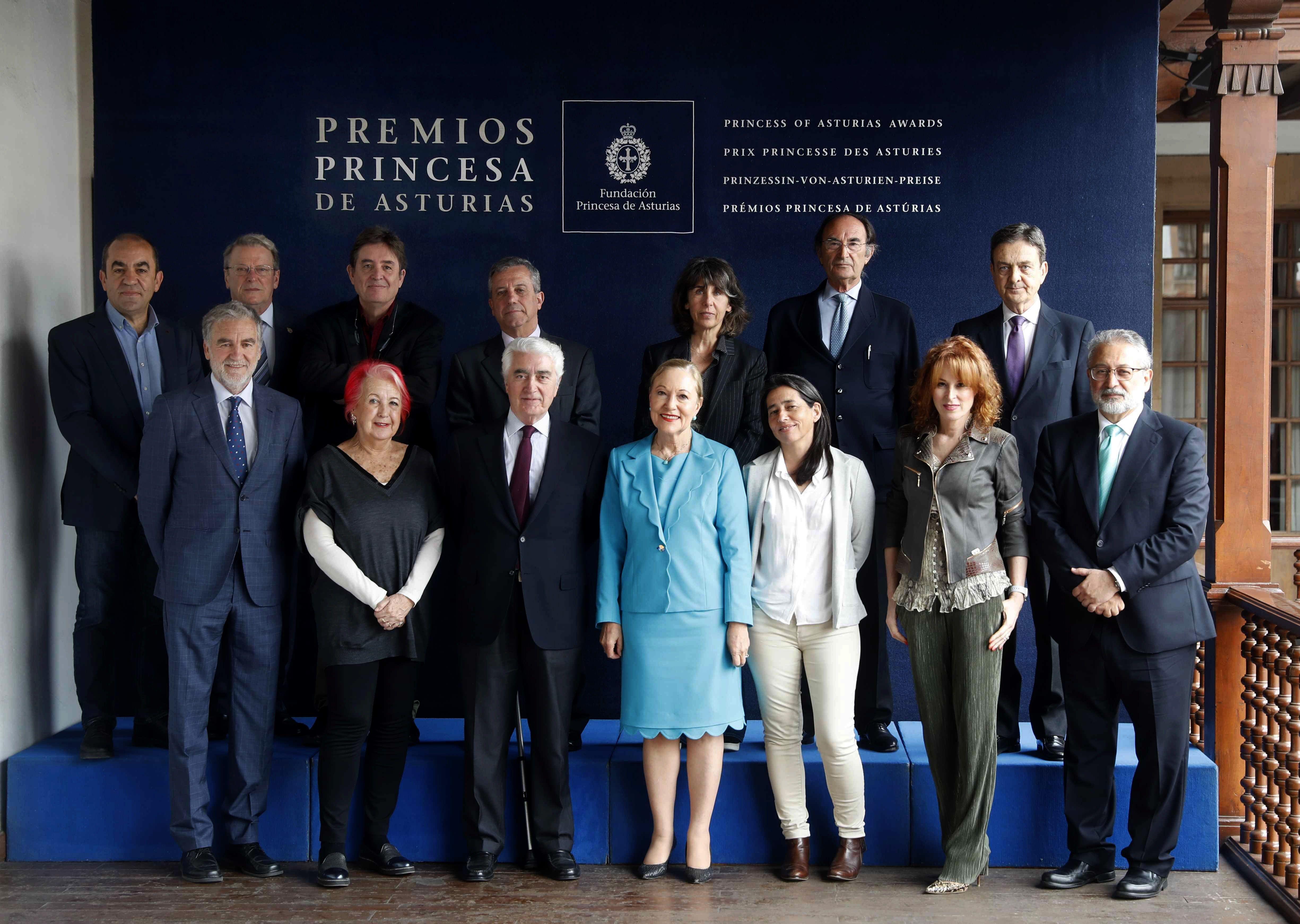 El jurado del Premio Princesa de Asturias de Cooperación Internacional 2019.