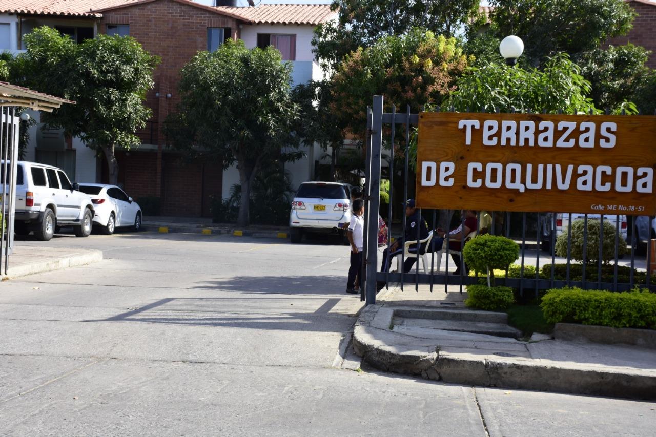En este conjunto el gobernador tiene su casa en Riohacha.