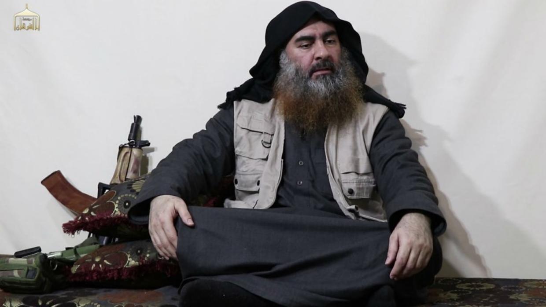 Jefe del Estado Islámico, Abu Bakr Al Baghdadi.