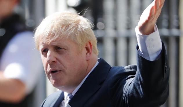 Primer ministro británico, Boris Johnson.