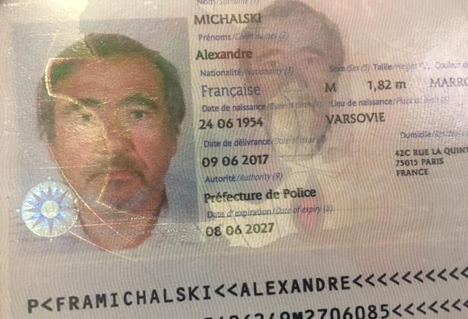 Alexander Michalski, 64 años, ciudadano holandés fallecido el 10 de febrero pasado en la Alta Guajira en accidente de tránsito.