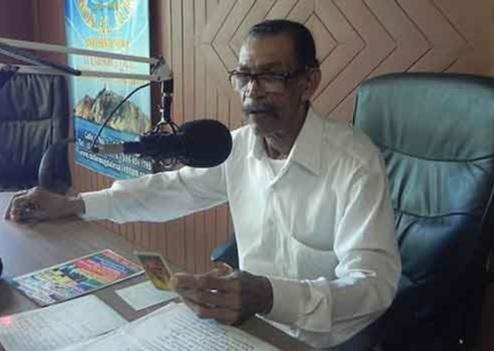 Carlos Monery, periodista radial de Santa Marta.