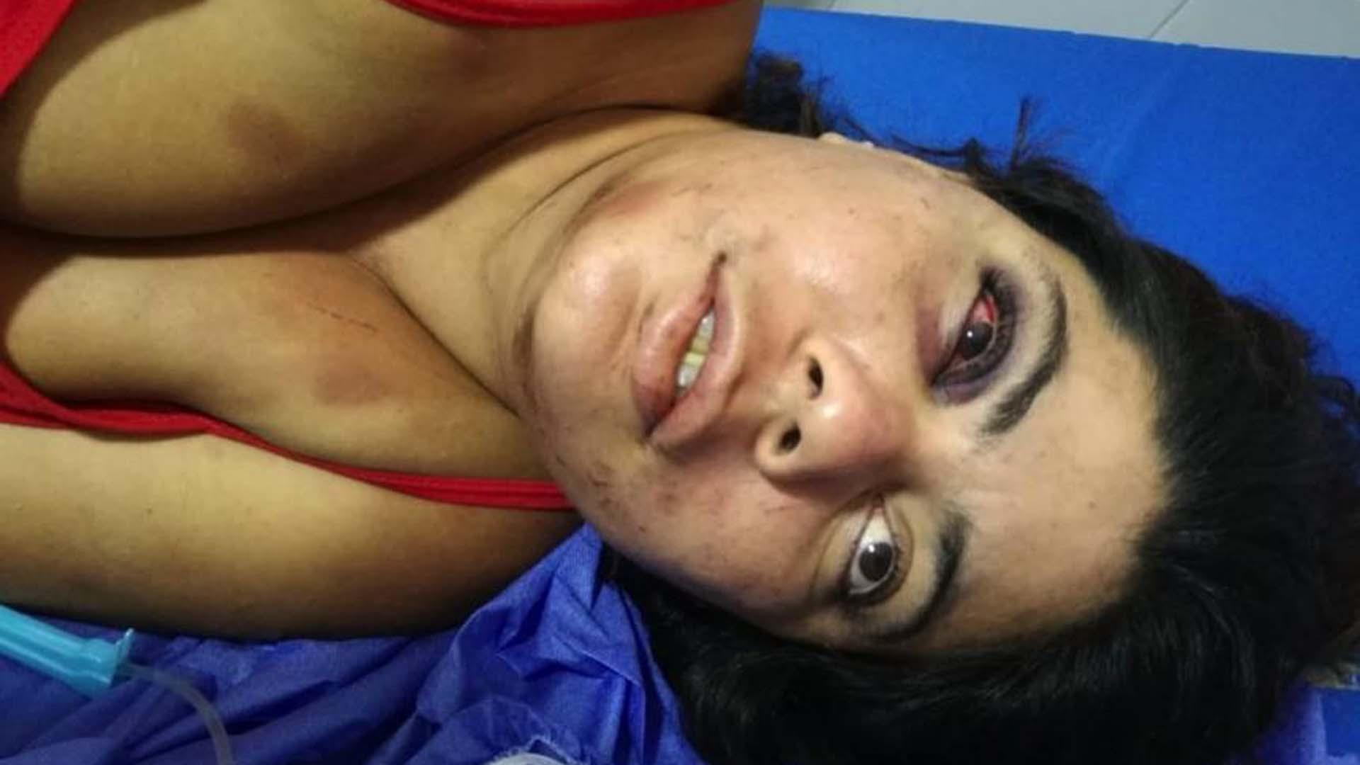 Angélica Montaño Acosta, víctima.