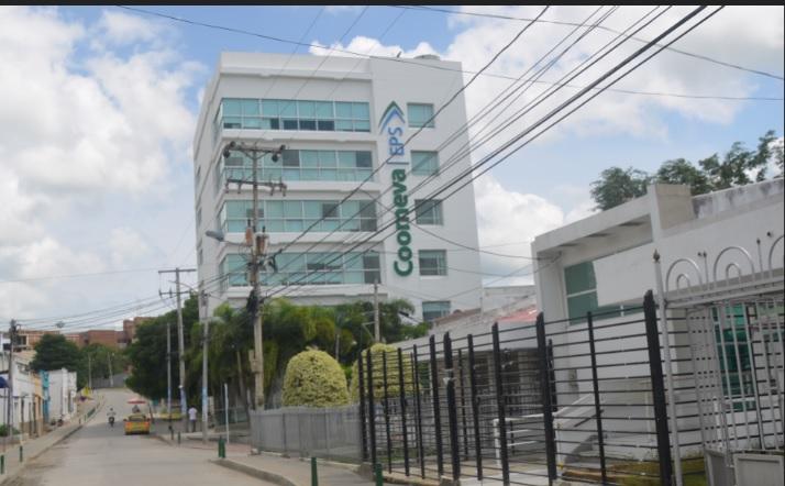 Esta es la sede de Coomeva en Sincelejo.