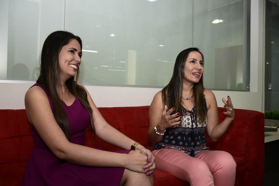 Vanessa Guerrero y Johanna Prieto, miembros de la comunidad Geek Girl.