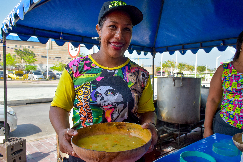 Los sancochos son uno de los platos más solicitados durante la fiesta del Carnaval.