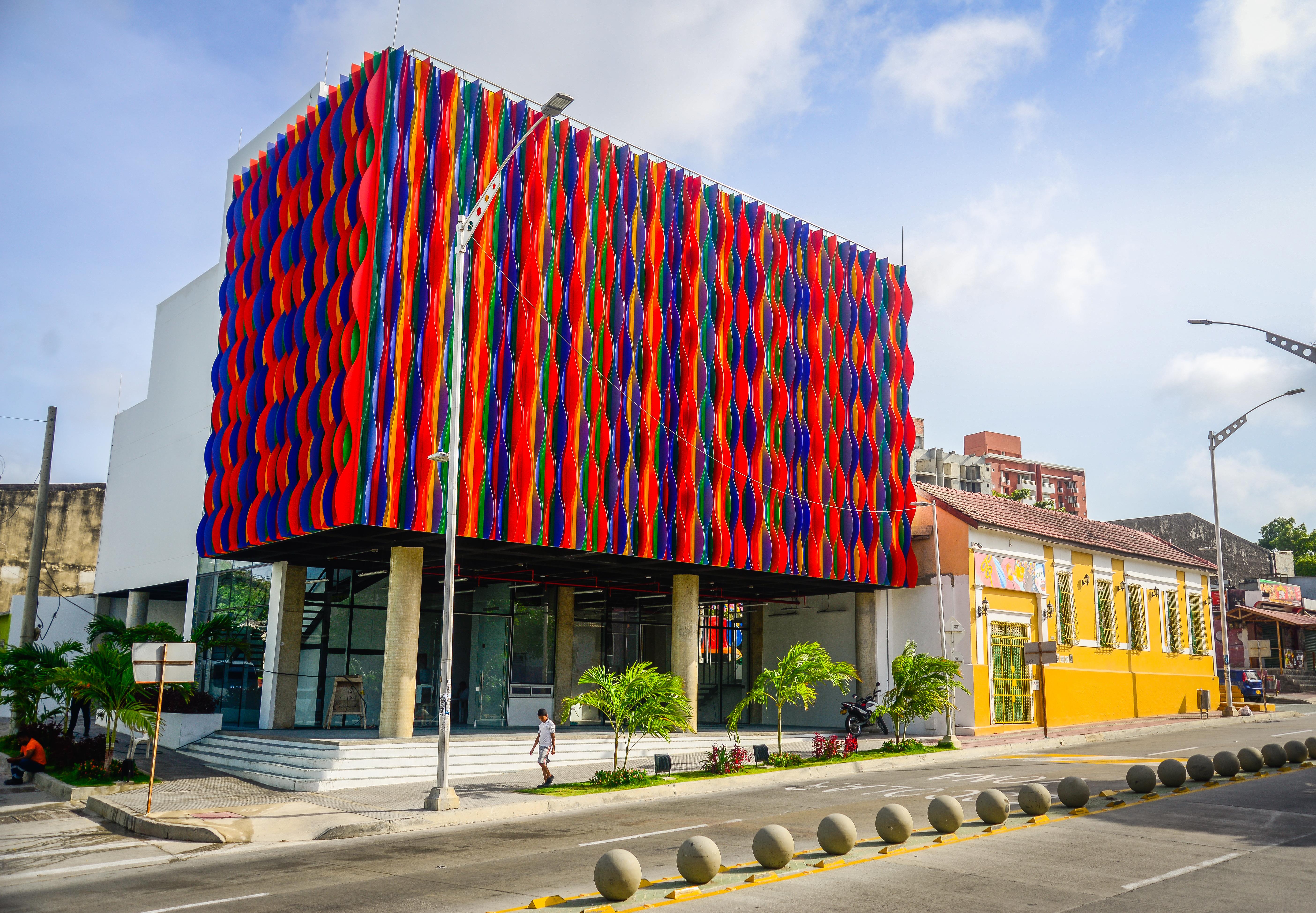 Fachada del Museo del Carnaval.