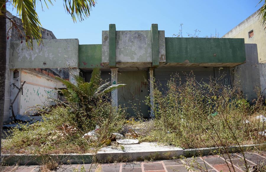 Esta casa hace parte de las 10 viviendas desalojadas por la Alcaldía de Barranquilla, por seguridad.