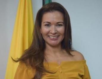 Lucy Cruz, del comité de belleza de Sucre.