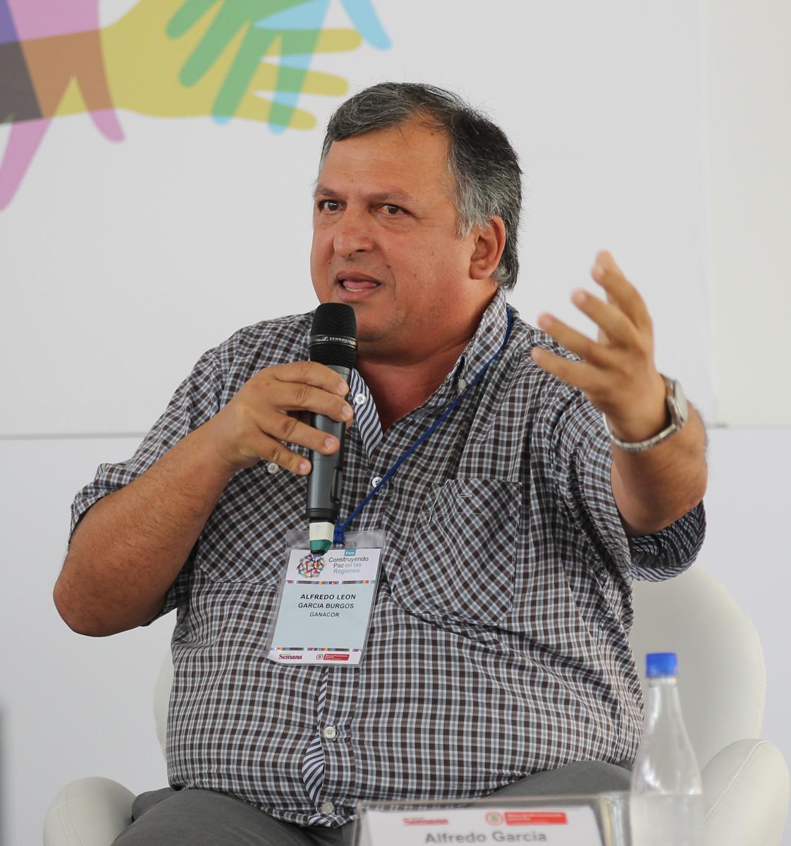 Alfredo García Burgos, presidente de Ganacor y de la Nueva Federación Ganadera