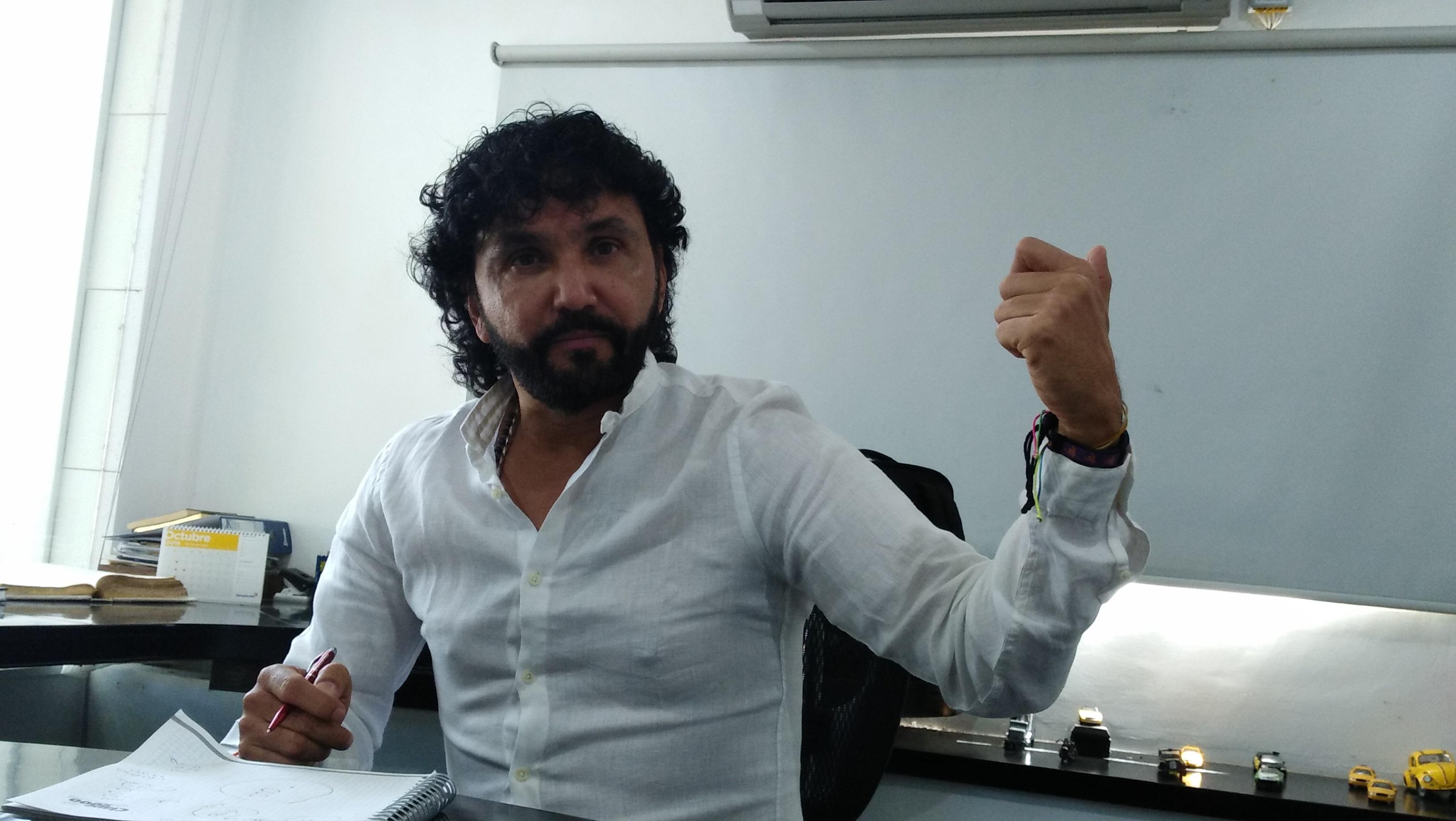 AlfredoTapia Rizzo, gerente de Auto Taxi Ejecutivo.