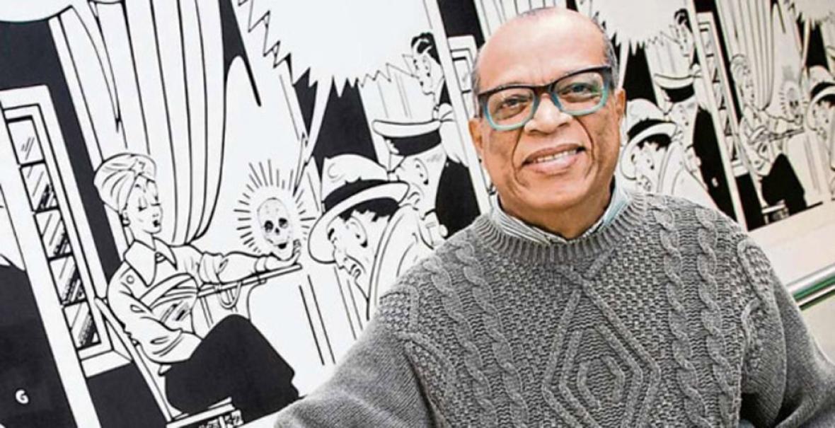 El artista costeño Álvaro Barrios.