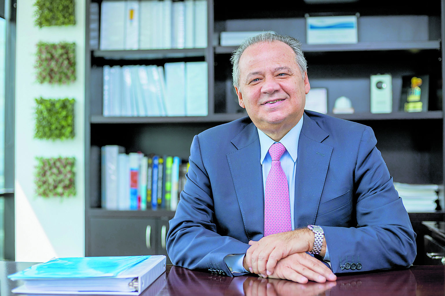 Amaury De la Espriella, presidente de la Refinería de Cartagena.