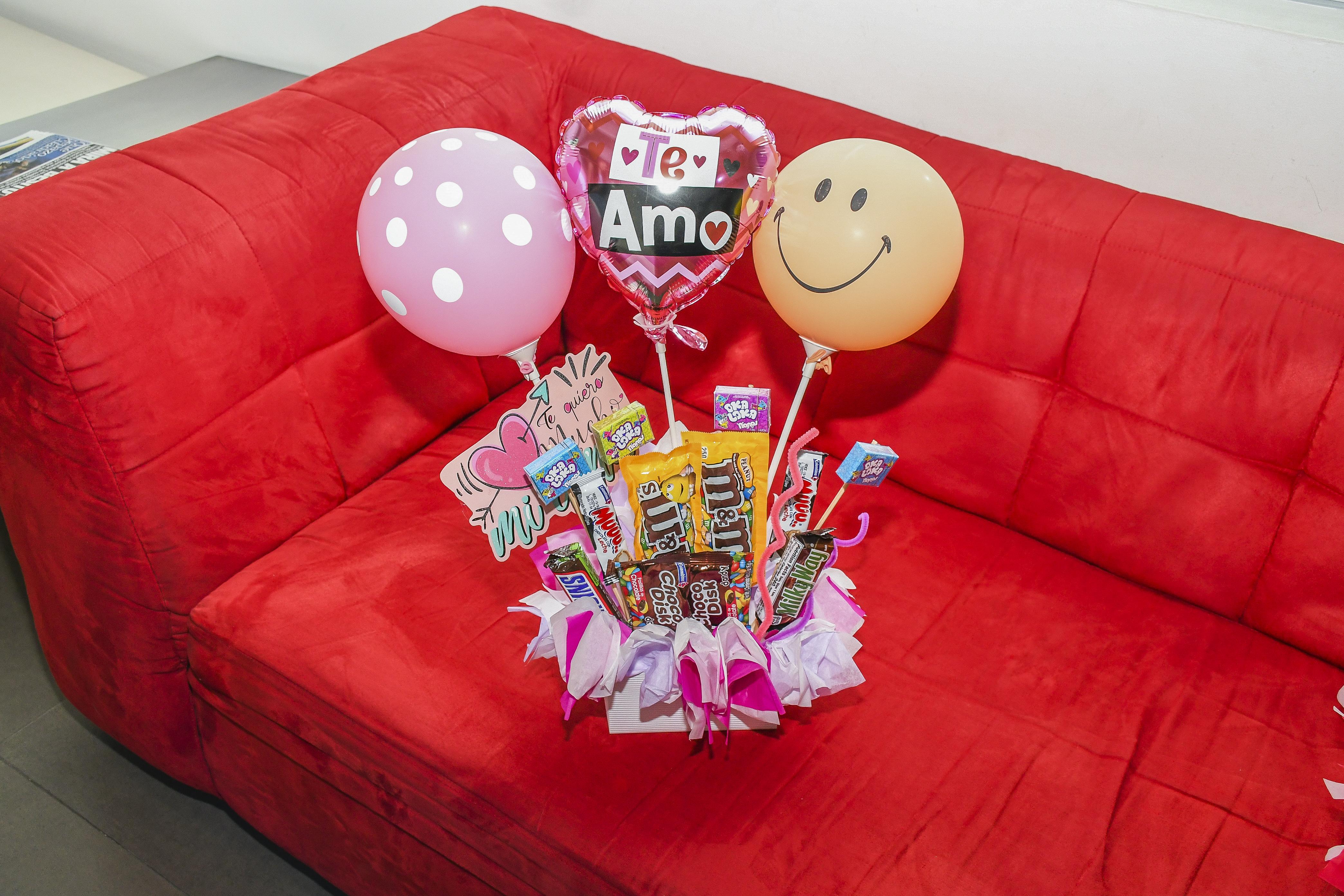 Bouquet de dulces.