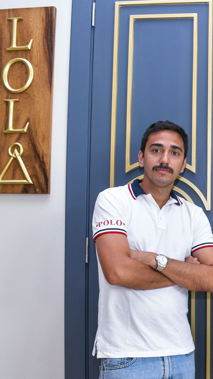 Andrés Martelo, gerente de bar y restaurante Lola.