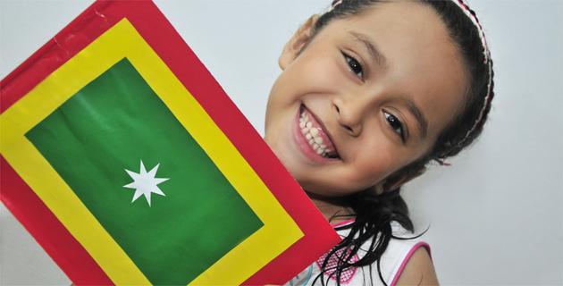 Paso A Paso Para Enseñar A Sus Hijos A Hacer La Bandera De Barranquilla