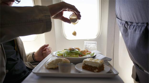 Resultado de imagen de comida de avion