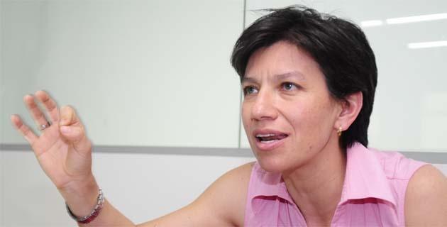 Claudia López reaccionó emotivamente al hundimiento del referendo discriminatorio