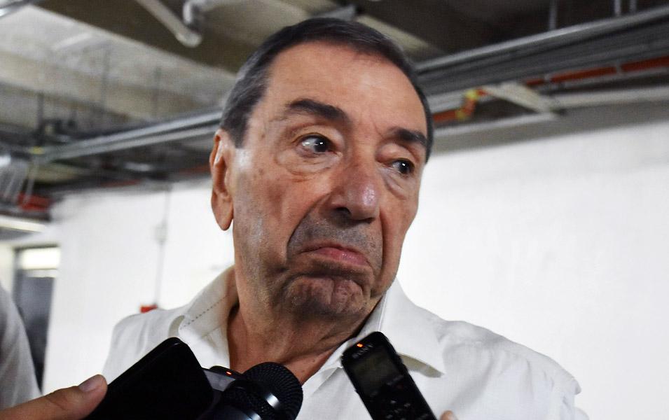 Fuad Char, uno de los máximos accionistas del Junior, al confirmar la salida de Giovanni Hernández del cuadro rojiblanco.