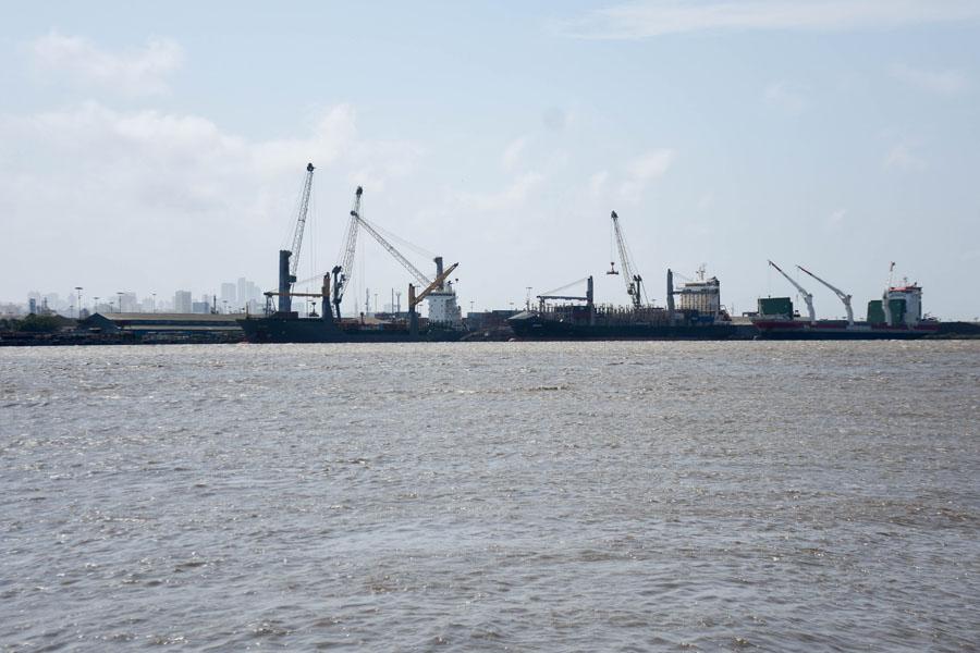Debido a la acumulación de sedimentos, el calado del Canal de Acceso al Puerto de Barranquilla disminuyó.