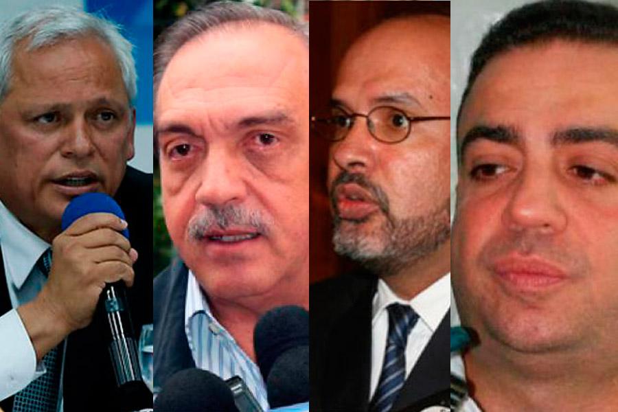 Denuncian a Leonidas Bustos y Francisco Ricaurte por corrupción