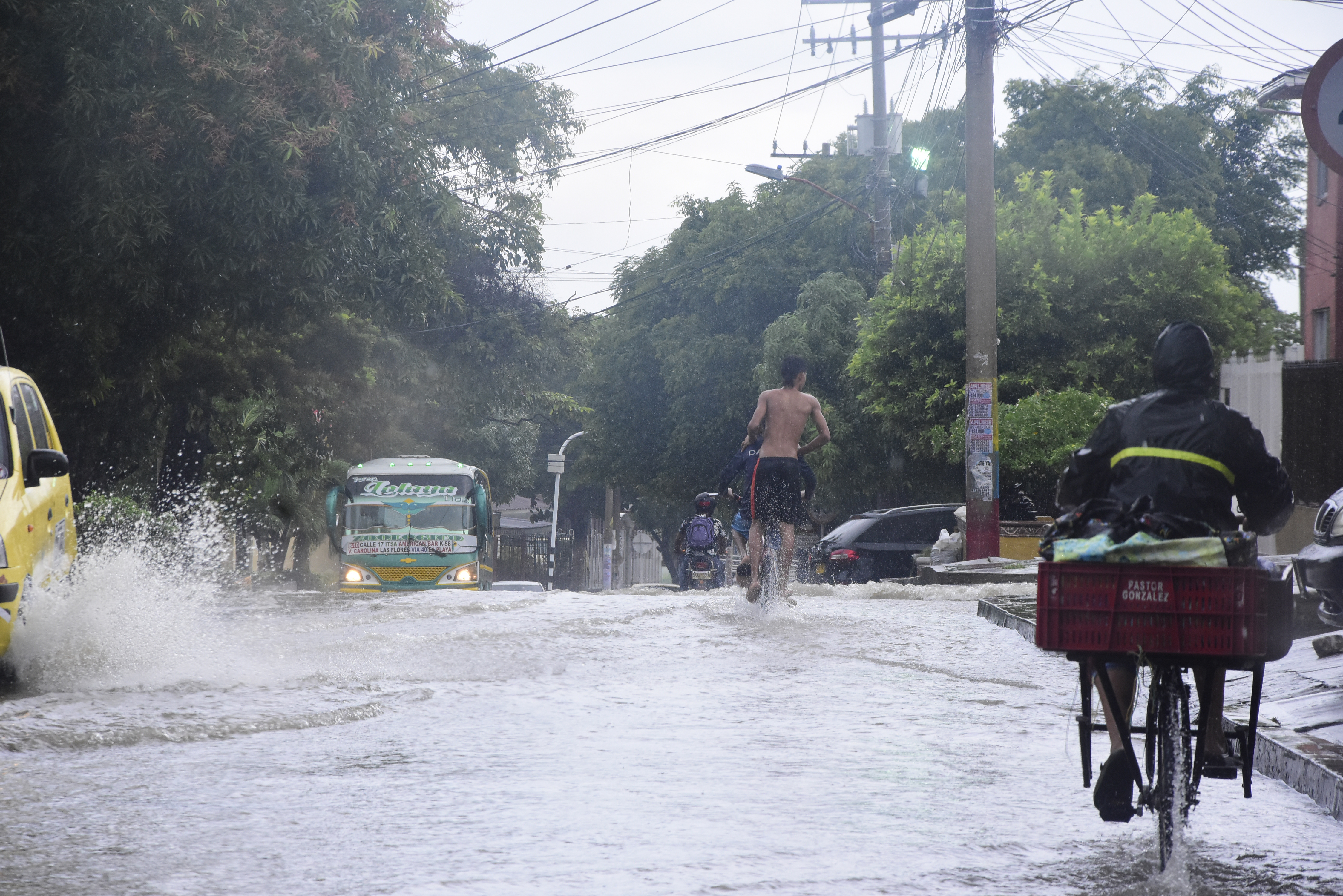 Pronostican lluvias en Colombia por influencia