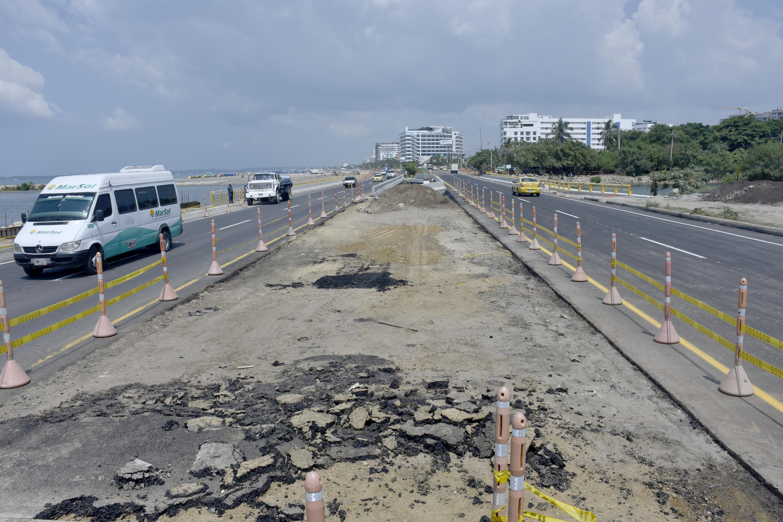 El proyecto de doble calzada Cartagena - Barranquilla, es una de las obras que recibirá recursos.