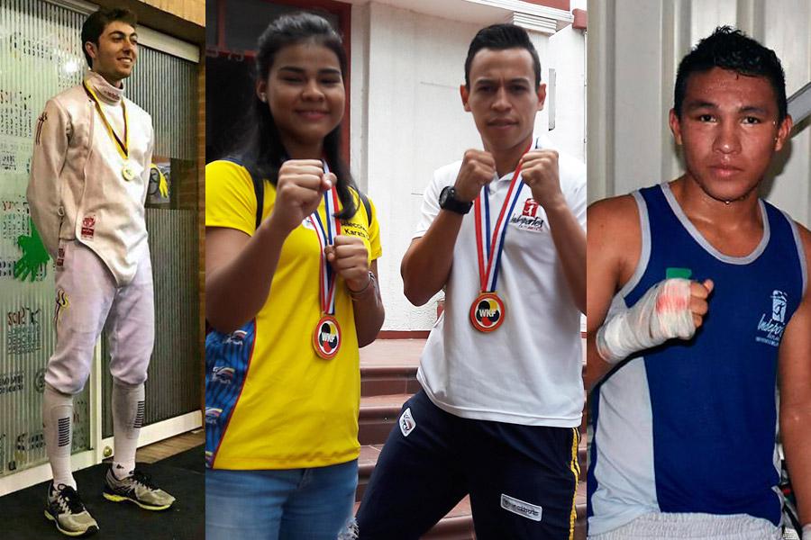 Colombia se baña de oro en dos días de competencia — Juegos Bolivarianos