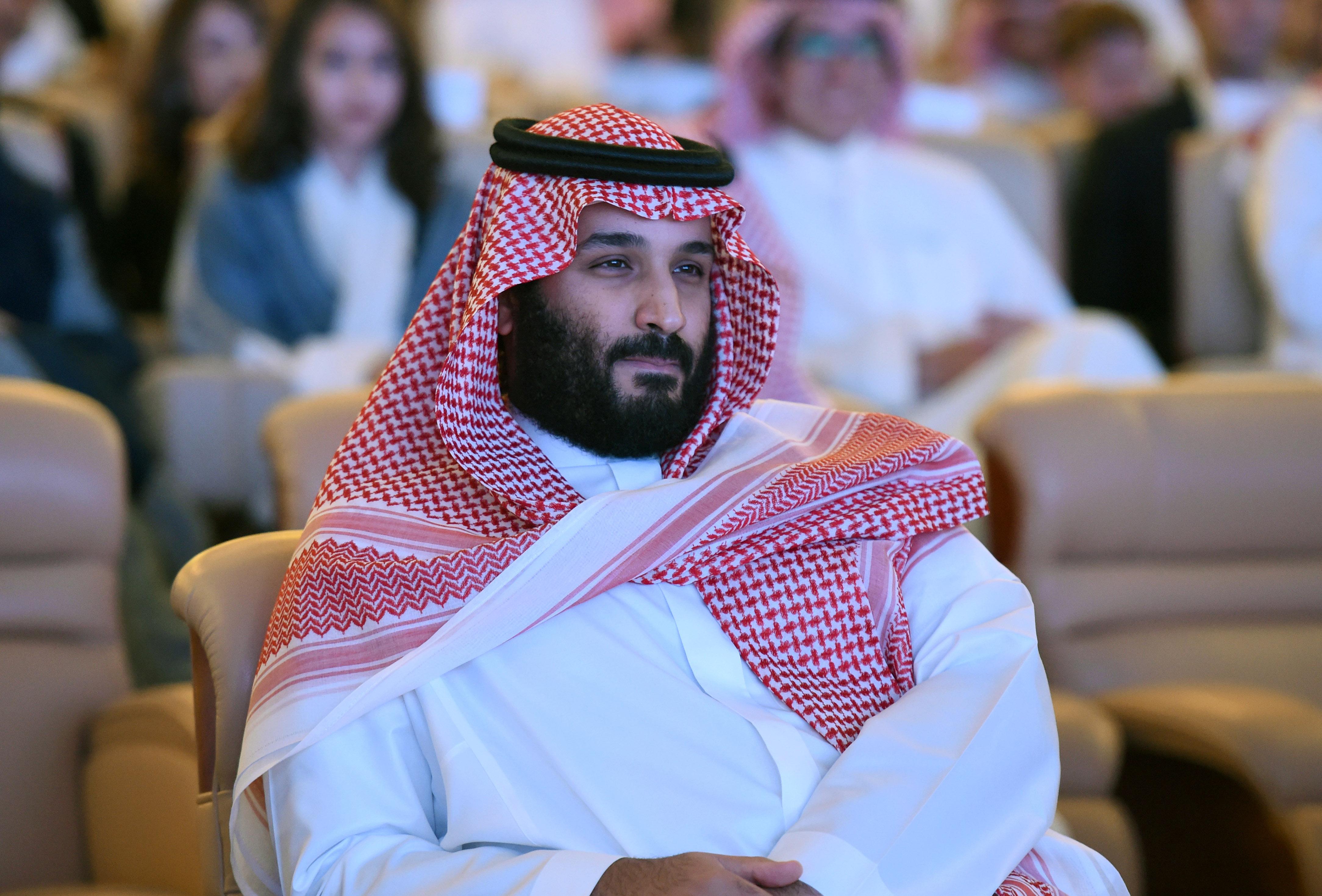 El príncipe heredero Mohamed bin Salmán, 32 años, cuya influencia en el poder no deja de crecer.